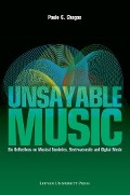 Bekijk details van Unsayable music