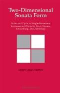 Bekijk details van Two-dimensional sonata form