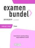 Bekijk details van Examenbundel vmbo gt/mavo Frans; 2018|2019