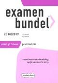 Bekijk details van Examenbundel vmbo gt/mavo geschiedenis; 2018|2019