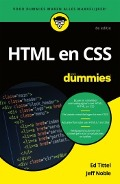 Bekijk details van HTML en CSS voor dummies