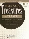 Bekijk details van Rubank treasures for clarinet