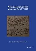 Bekijk details van Acta gedeputeerden classis van Tiel 1777-1815