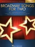 Bekijk details van Broadway songs for two
