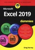 Bekijk details van Microsoft Excel 2019 voor dummies®