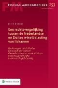 Bekijk details van Een rechtsvergelijking tussen de Nederlandse en Duitse winstbelasting van lichamen
