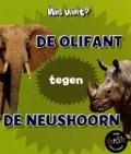 Bekijk details van De olifant tegen de neushoorn