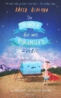 Bekijk details van De jongen die met piranha's zwom