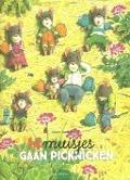 Bekijk details van 14 muisjes gaan picknicken
