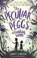 Bekijk details van The peculiar peggs of Riddling Woods