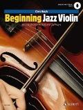Bekijk details van Beginning jazz violin