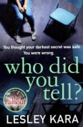 View details of Who did you tell?