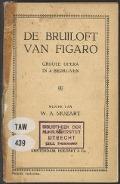Bekijk details van De bruiloft van Figaro