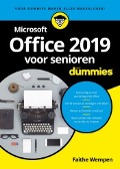 Bekijk details van Microsoft Office 2019 voor senioren voor dummies®