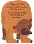 Bekijk details van Brown bear, brown bear, what do you see?