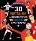 Bekijk details van 30 voetballers die geschiedenis hebben geschreven
