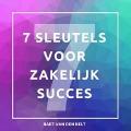 Bekijk details van De 7 sleutels voor zakelijk succes
