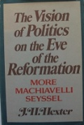 Bekijk details van The vision of politics on the eve of the Reformation