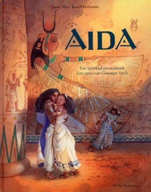 Bekijk details van Aida; een muzikaal prentenboek; een opera van Giuseppe Verdi; tekst van Rudolf Herfurtner
