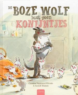 Bekijk details van De boze wolf lust geen konijntjes