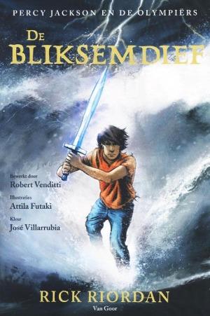 Bekijk details van De bliksemdief; graphic novel
